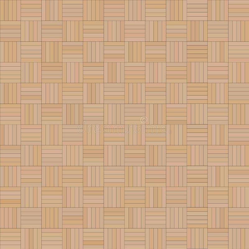 Fundo do quadrado de Brown do sumário, tijolos, pranchas, retângulo, quadrado ilustração stock