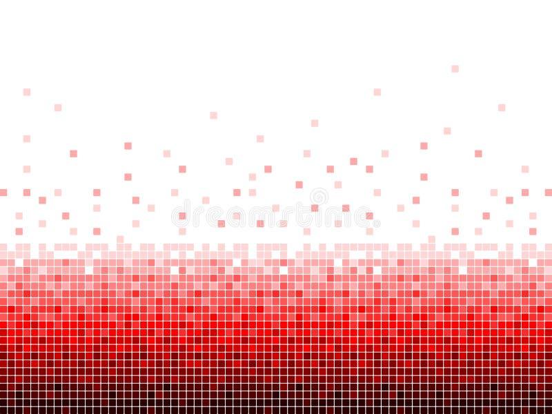 Fundo do quadrado vermelho de Digitas fotos de stock
