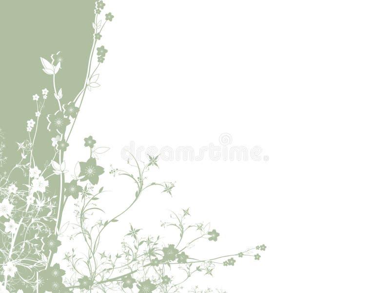 Fundo do ramalhete da flor ilustração royalty free
