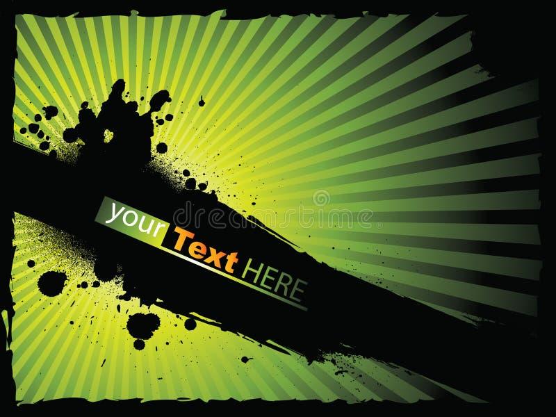 Fundo do respingo ilustração do vetor