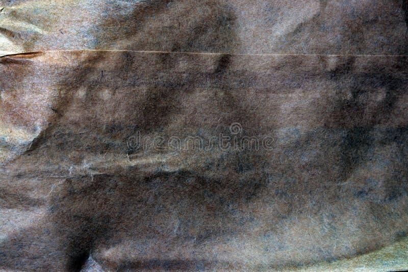 Fundo do saco de papel com tons da terra fotos de stock royalty free