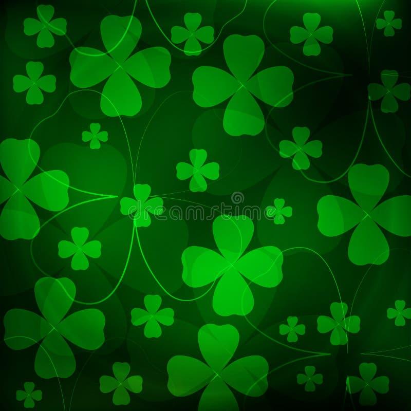 Fundo do St Patrick foto de stock royalty free