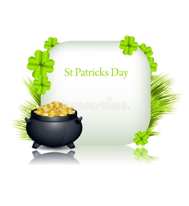 Download Fundo do St Patricks ilustração do vetor. Ilustração de patrick - 29841506