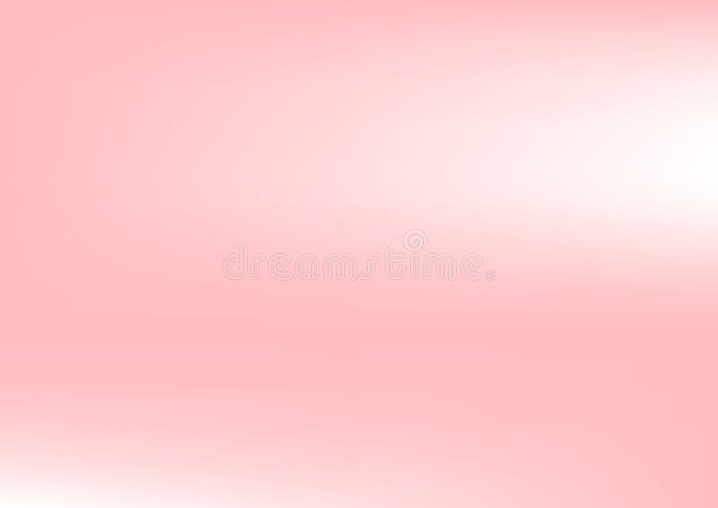 Fundo do sumário do borrão do inclinação do rosa pastel Ilustração do vetor ilustração do vetor