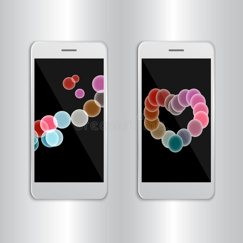Fundo do sumário da bandeira da apresentação de IPhone 7 foto de stock royalty free