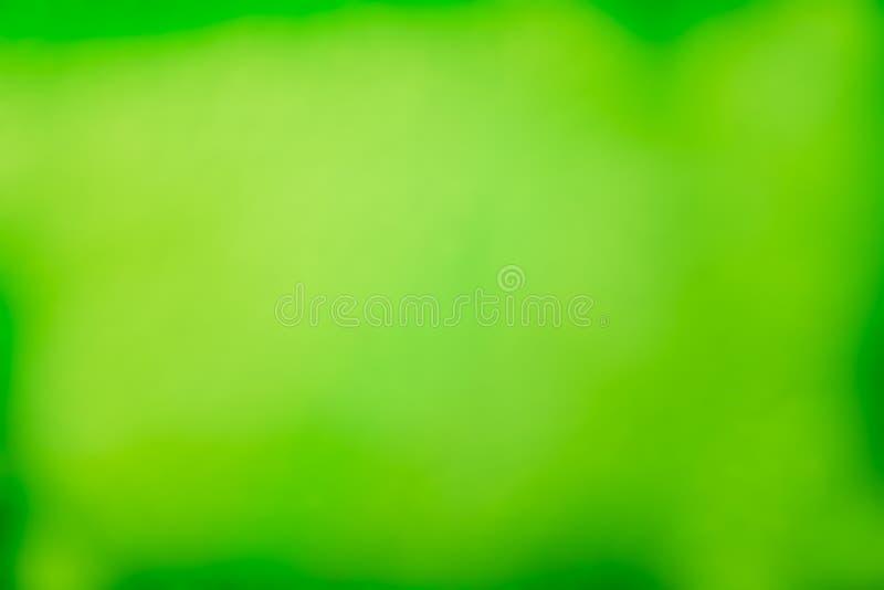 Fundo do sumário da luz verde ilustração do vetor