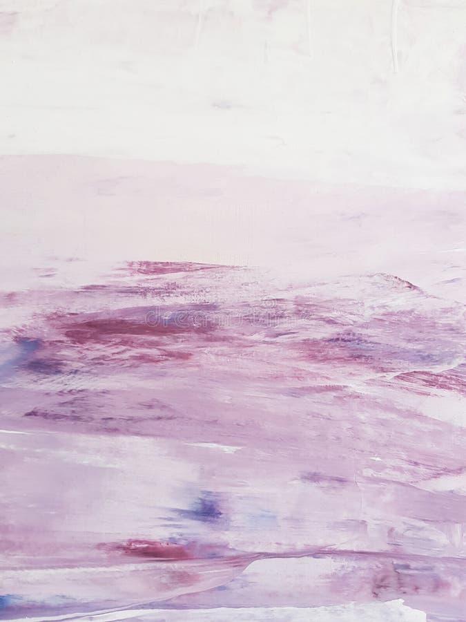 Fundo do sumário da pintura do rosa imagens de stock royalty free
