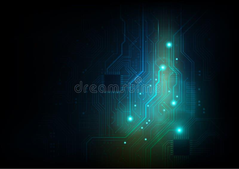 Fundo do sumário da placa de circuito imagens de stock royalty free