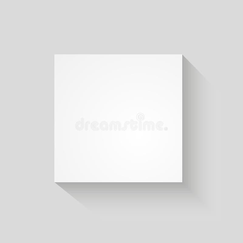 Fundo do sumário do quadrado para anunciar ilustração stock