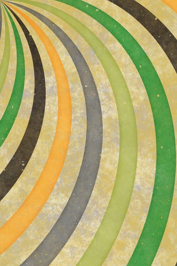 Fundo do sunburst do redemoinho do vintage ilustração do vetor