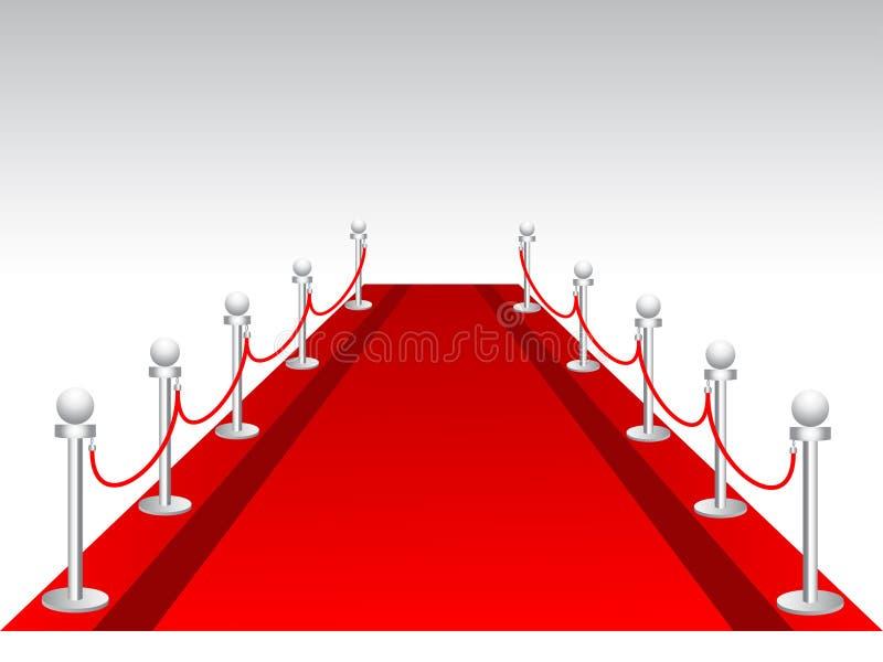 Download Fundo do tapete vermelho ilustração do vetor. Ilustração de tapete - 16865347