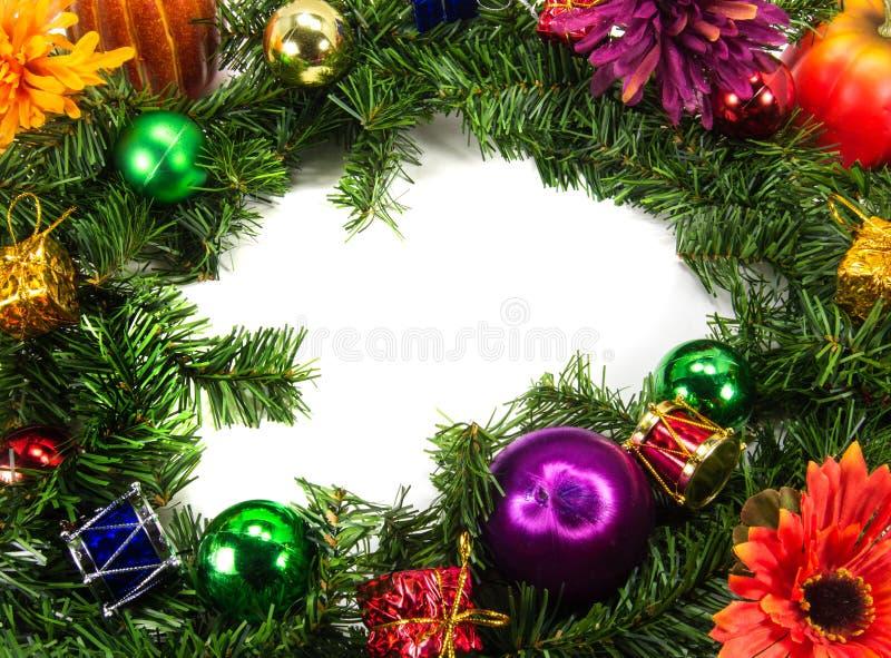 Fundo do tema do Natal imagens de stock royalty free