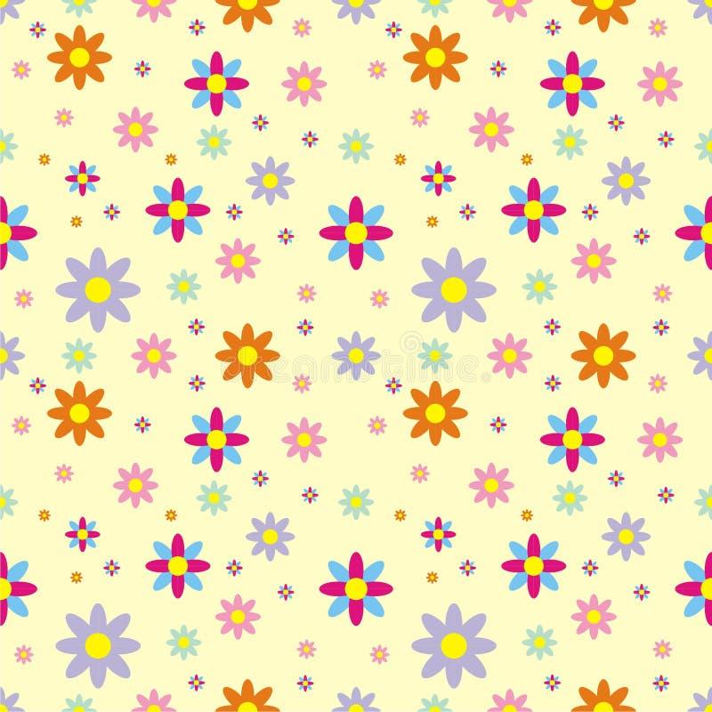 Fundo do teste padrão de flor fotos de stock