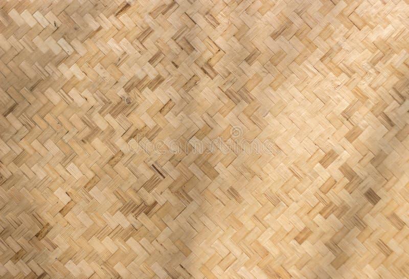 Fundo do teste padrão do rattan da textura imagem de stock