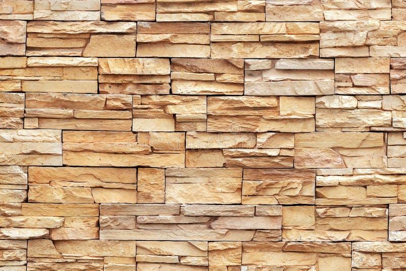 Fundo do tijolo de Brown, close up fotos de stock