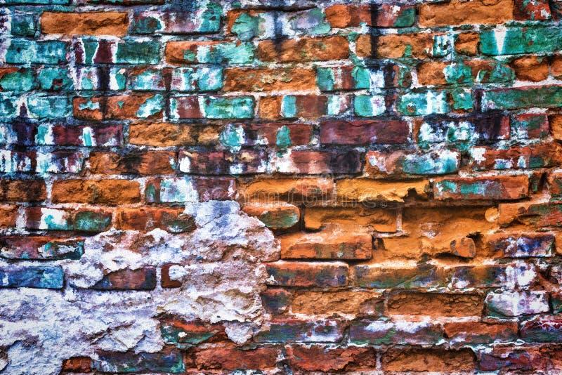 Fundo do tijolo e da parede de pedra textura-animados foto de stock royalty free