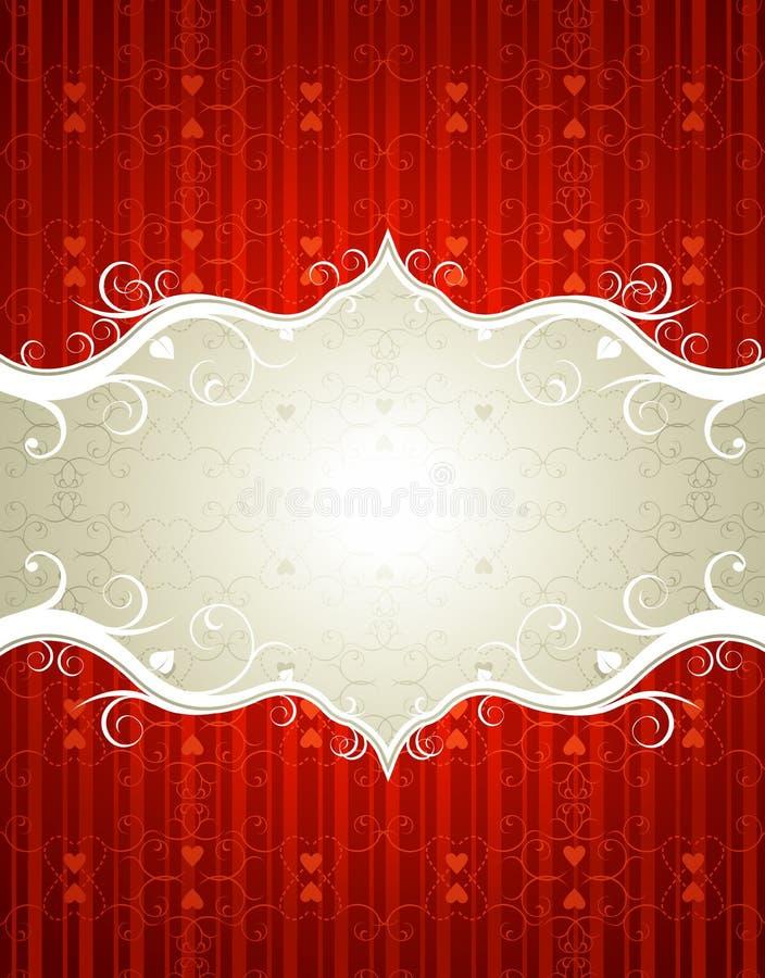 Download Fundo do Valentim ilustração do vetor. Ilustração de etiqueta - 12804963