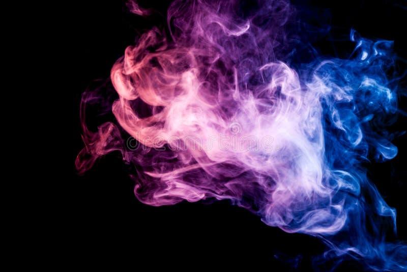 Fundo do vape do fumo imagens de stock royalty free