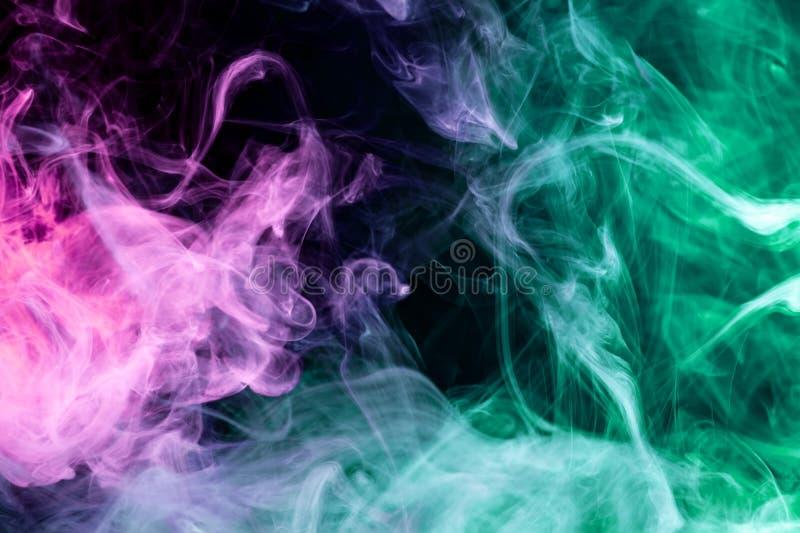 Fundo do vape do fumo ilustração stock
