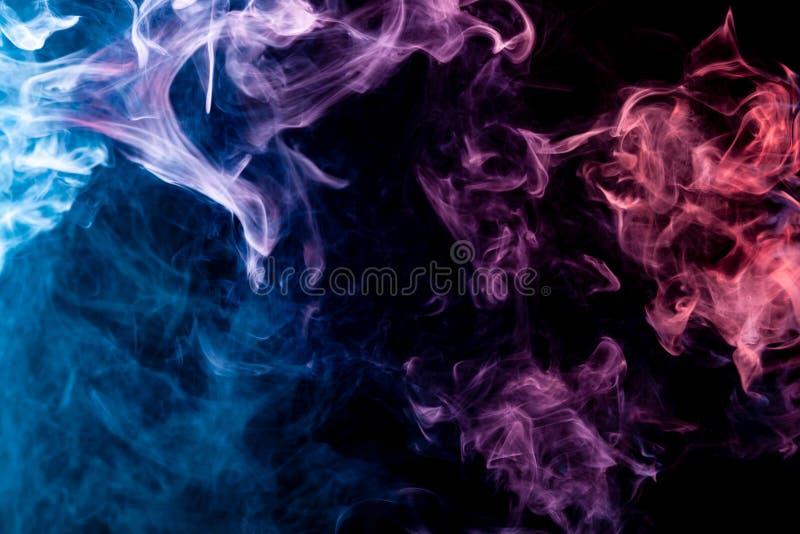 Fundo do vape do fumo ilustração royalty free