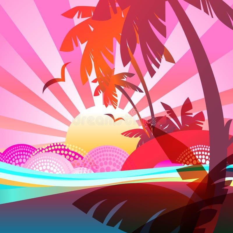 Download Fundo do verão ilustração stock. Ilustração de reflexão - 26513882