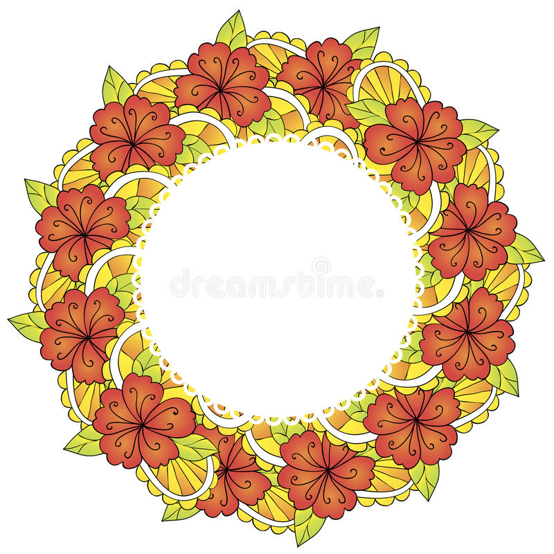 Download Fundo da flor ilustração do vetor. Ilustração de pintura - 29827563