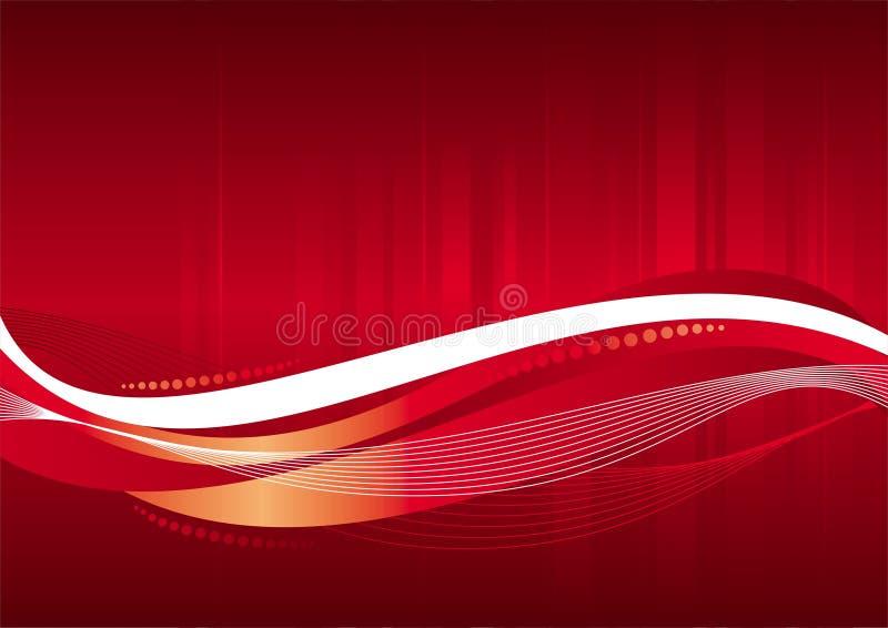 Fundo do vermelho do vetor ilustração do vetor