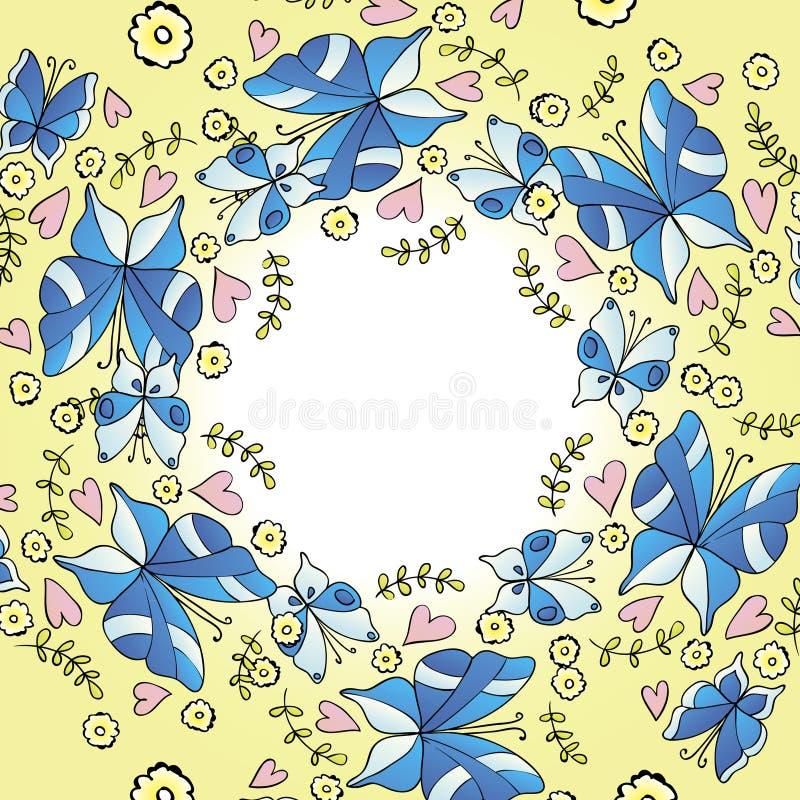 Download Borboleta ilustração do vetor. Ilustração de ninguém - 29827406