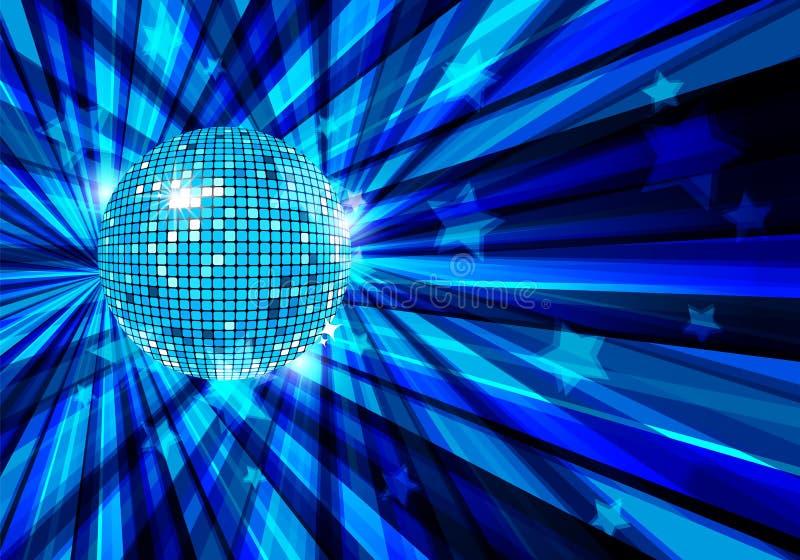 Fundo do vetor da esfera do disco/eps10 ilustração do vetor