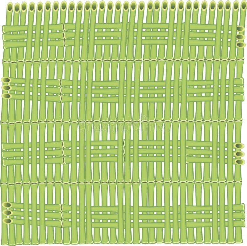 Fundo do vetor das hastes de bambu ilustração stock