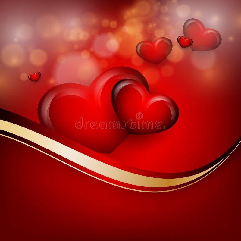 Fundo do vetor do dia de Valentim ilustração royalty free