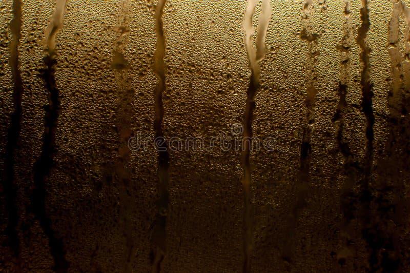 Fundo do vidro de Misted foto de stock