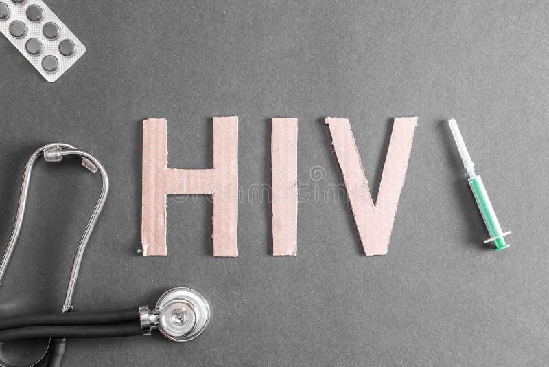 Fundo do VIH imagens de stock royalty free