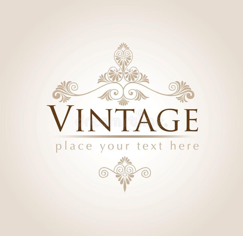 Fundo do vintage ilustração royalty free