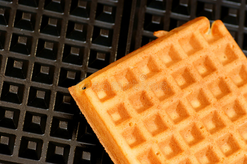 Fundo do Waffle foto de stock royalty free