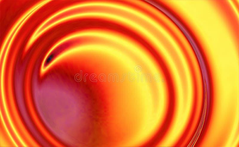 Fundo do Whirlpool do incêndio ilustração stock