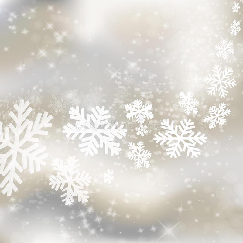 Fundo do Xmas. Projeto abstrato do inverno ilustração do vetor