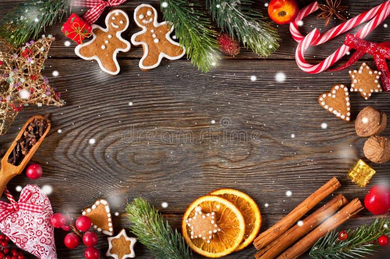 Fundo doce do Natal fotos de stock
