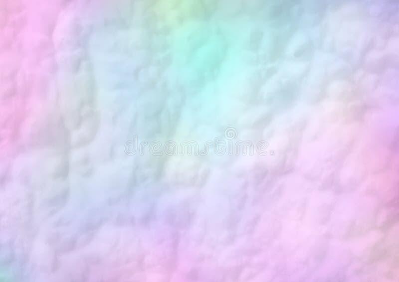 Fundo doce macio colorido do algodão doce nas cores pastel macias fotografia de stock