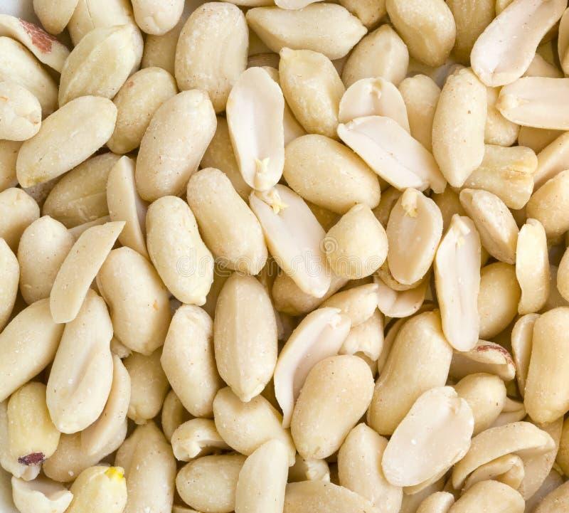 Fundo dos amendoins imagens de stock