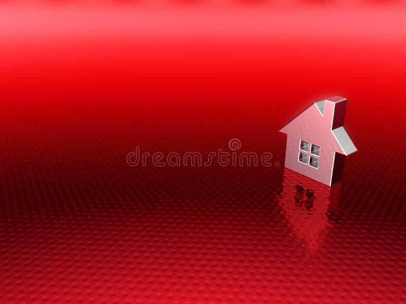 Fundo dos bens imobiliários ilustração stock