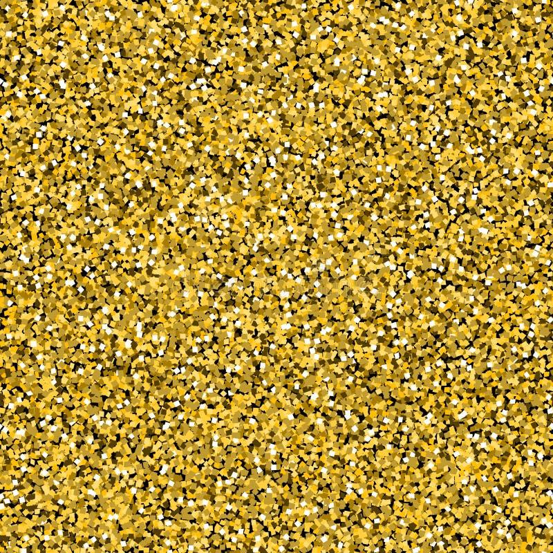Fundo dos confetes do ouro ilustração stock