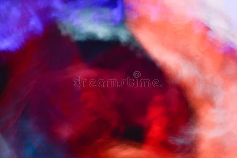 Fundo dos efeitos da luz, fundo claro abstrato, escapes claros, fotografia de stock