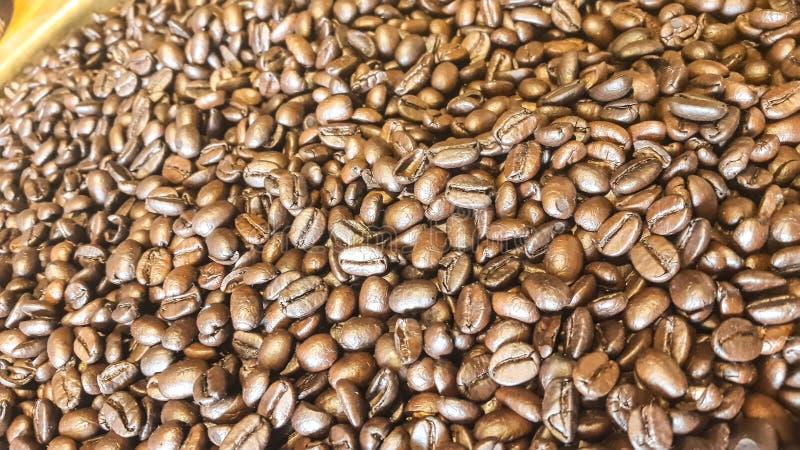 Fundo dos feijões de café fotos de stock royalty free