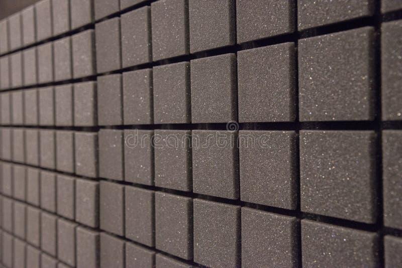Fundo dos painéis da espuma para a isolação sadia no estúdio fotografia de stock royalty free