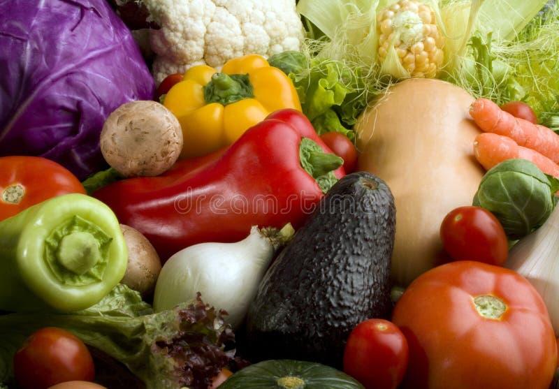 Fundo dos vegetais imagens de stock