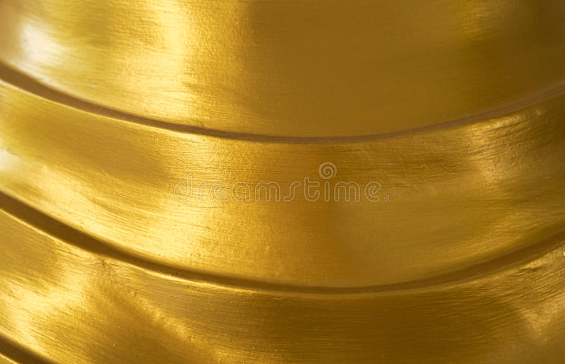 Fundo dourado brilhante abstrato da textura foto de stock