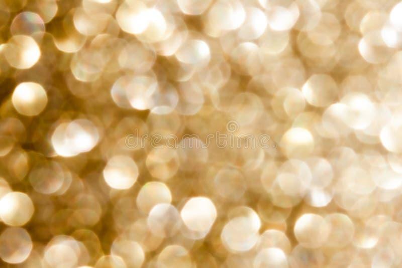 Fundo dourado brilhante abstrato imagens de stock royalty free