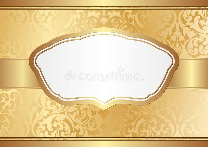 Download Fundo dourado ilustração do vetor. Ilustração de decorativo - 29831723