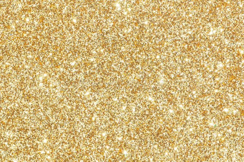 Fundo Dourado Da Textura Do Brilho Foto De Stock Imagem De